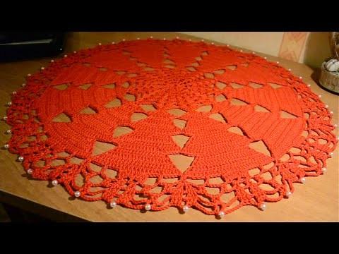 Centrino natalizio - crochet