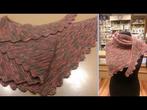 Baktus ai ferri - Tutorial sciarpa a coda di drago | How to knit a dragon tail scarf