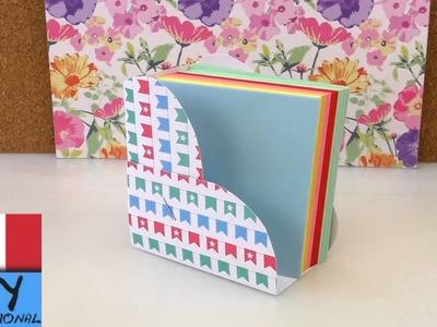 DIY Scrivania - Mini contenitore per foglietti a forma di cuore da metter sulla scrivania