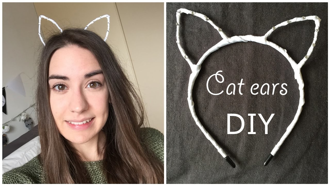 Cat ears DIY (cerchietto) | Chibiistheway