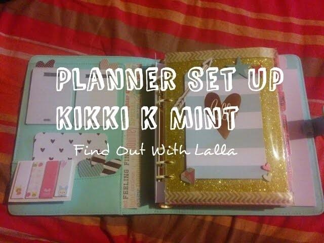 "Planner Set Up #2 | Kikki K Perforated Mint ""How I stay organized"" ( I parte - ITA)"