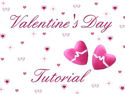 ❤ Orecchini Cuore ❤ Heart Earrings ❤ Tutorial S.Valentino #2