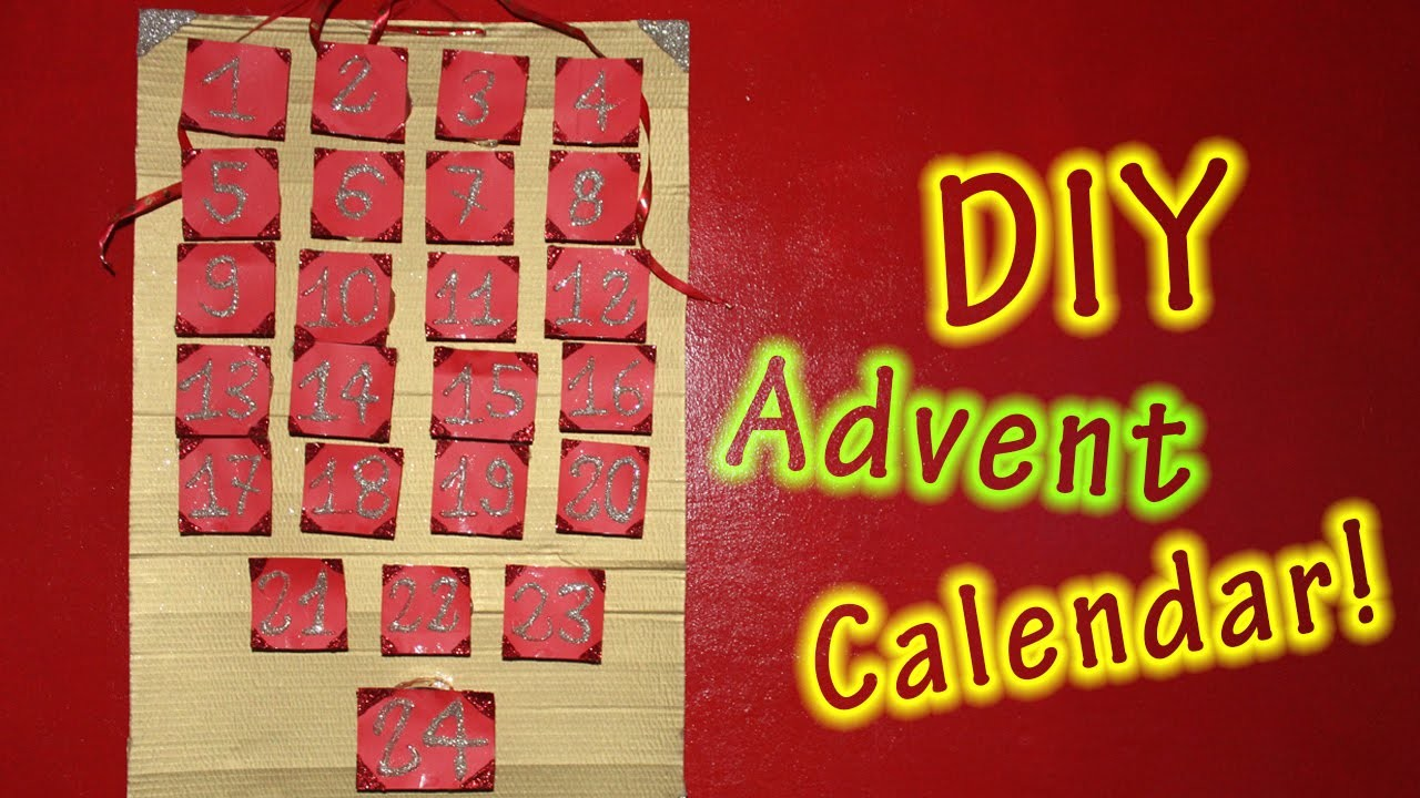 DIY Advent Calendar! ♡ | Marika