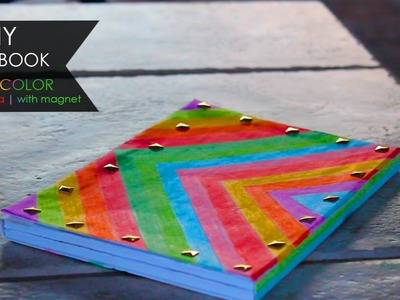 DIY Notebook ◖ Multicolor con calamita | with magnet