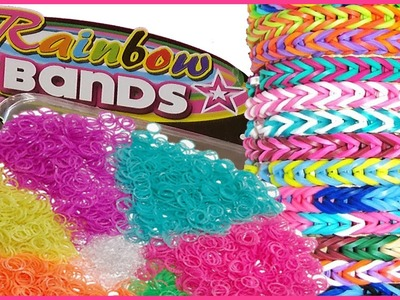 Gli elastici Rainbow Bands Tutorial.Review.Recensione