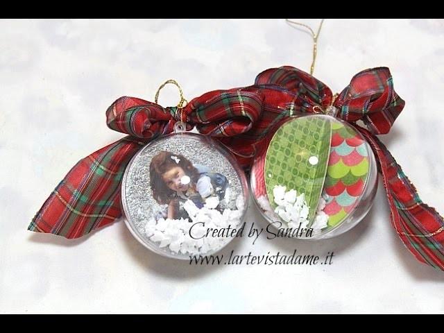Palline di Natale fai da te con foto-Christmas Balls DIY-Natale Fai da te-Christmas Decorations