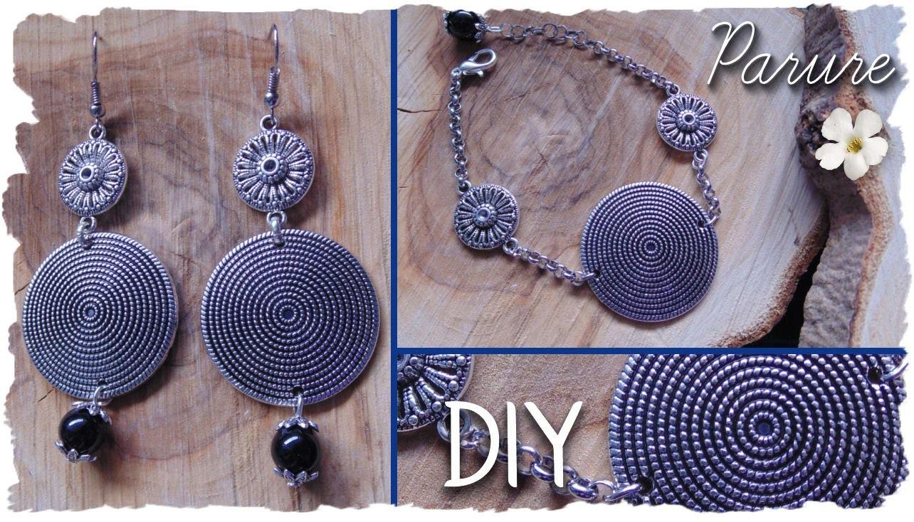 DIY Xmas: Crea una Parure con Orecchini, Collana e Bracciale | Idee Regalo | DIY Jewels