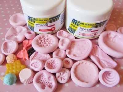 Come creare e usare gli stampi in silicone :) How to create and use silicon molds