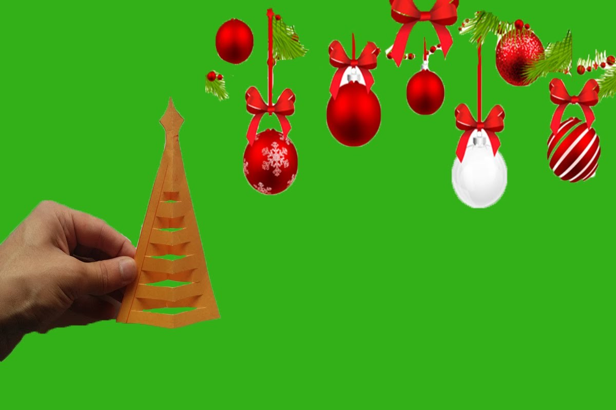 Come fare albero di Natale di carta - DIY   Albero di Natale Origami Facile