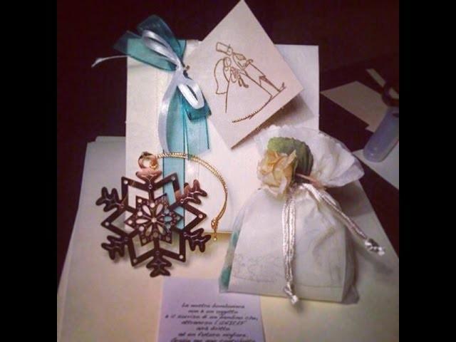 DIY - Bomboniera fai da te - bomboniera matrimonio handmade