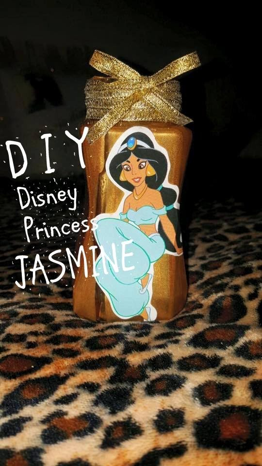 DIY - Tutorial Disney Princess Jasmine Golden Jar