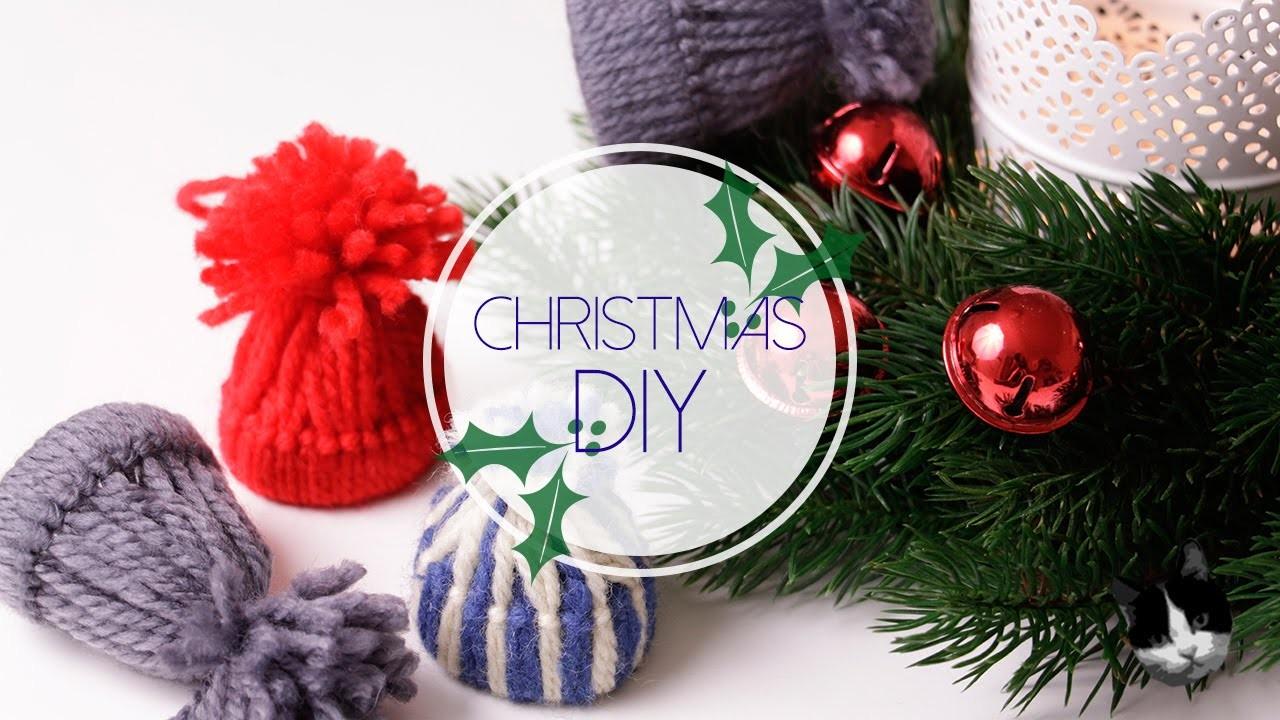 Christmas DIY: cappellini di lana | Natale con Zecca