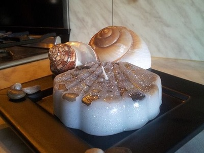 """Tutorial candele fatta in casa """"Spuma dei Caraibi"""""""