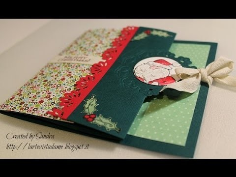 Swing card tutorial con Spellbinders - Cardmaking -Biglietto Auguri Fai da te