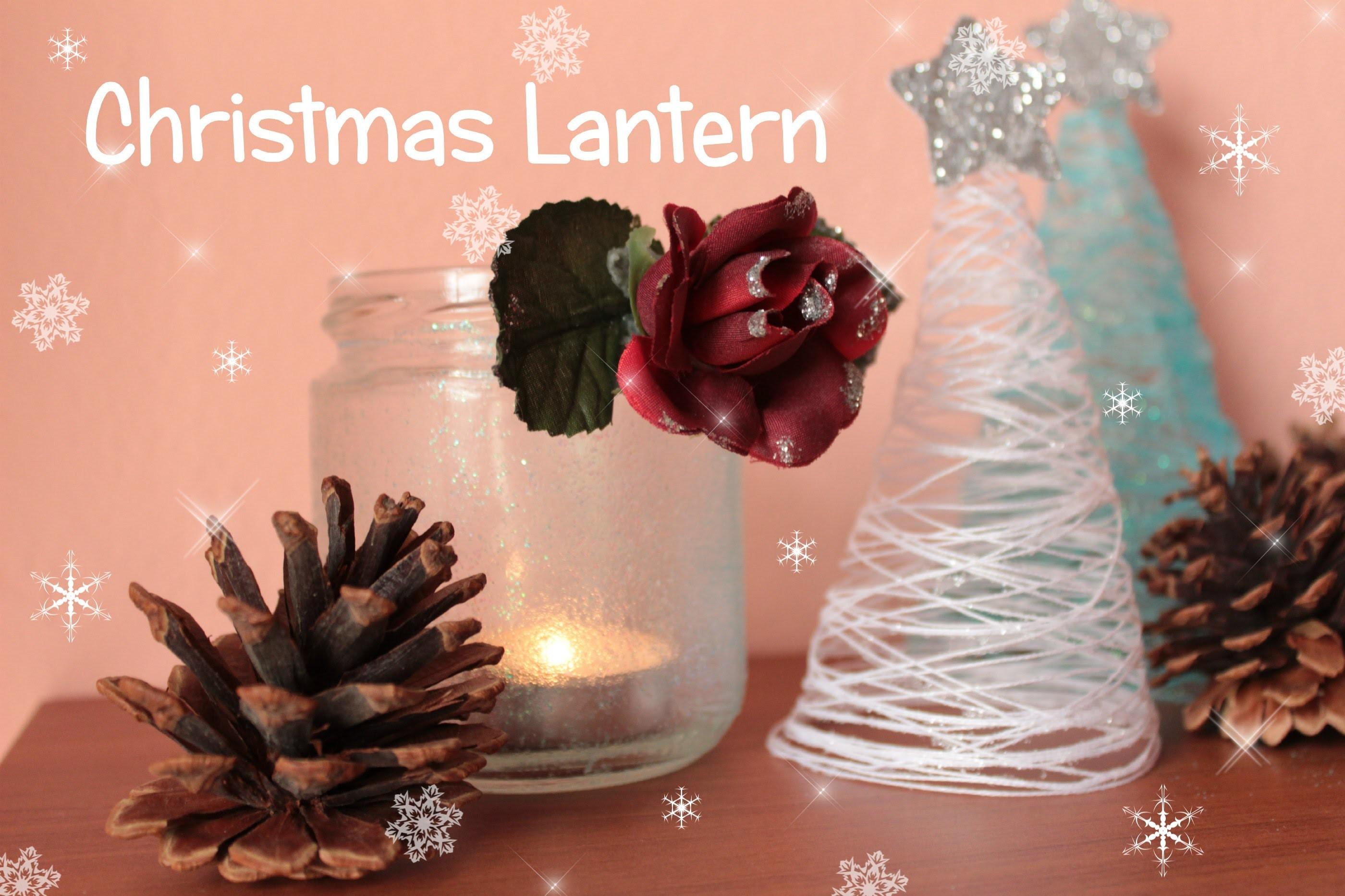 Lanterna Natalizia | Christmas Lantern