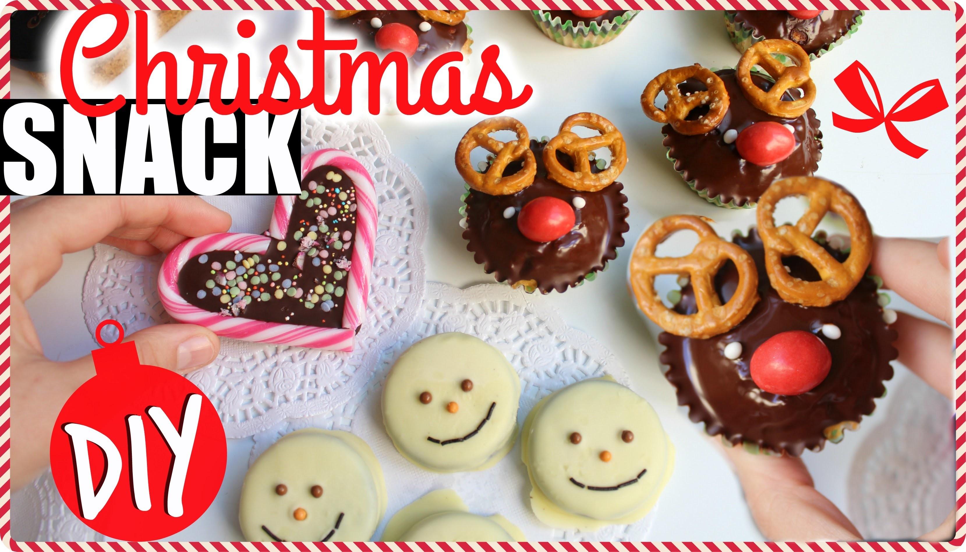 LAST MINUTE Christmas Snack! Facili e Veloci! ♥ #InCucinaConNè