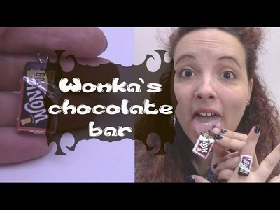 DIY| Wonka's chocolate Charms in fimo | FrancescaMood