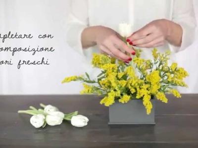 Blanc Mariclò video tutorial - Piccole idee per una colorata tavola primaverile