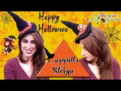 Cappello da Strega per Halloween all'Uncinetto | Crochet Witch Hat