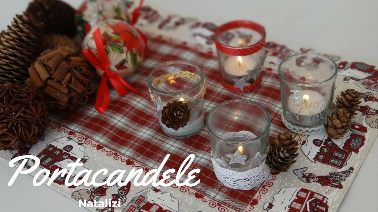Portacandele Natalizio- Christmas Candle DIY