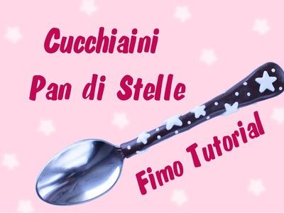 ✿ Tutorial Cucchiaini Pan di Stelle ✿
