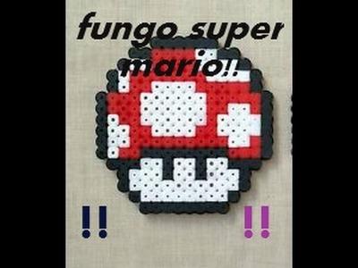 Tutorial-FUNGO SUPER MARIO-perline pyssla