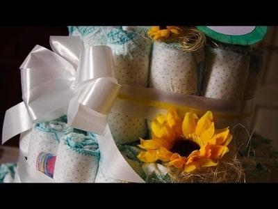 DIY - Torta di Pannolini