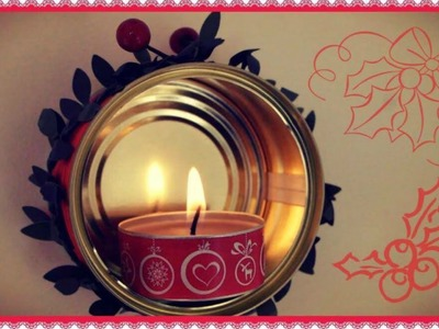 D.I.Y. Tuna Candle |24 Day's of Christmas {Day 6} - Bacidisapori.