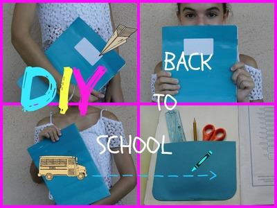 DIY[BACK TO SCHOOL 2015] IL QUADERNO A SFUMATURE!