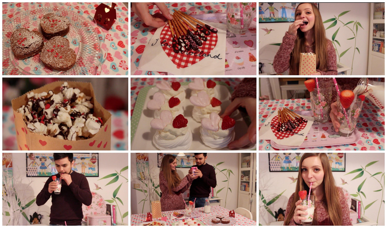 DIY Valentine's day SNACKS! Yummy and easy!