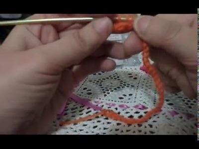 Ricciolo crochet (punto spirale)