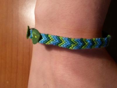 Tutorial:braccialetti cotone a spina di pesce