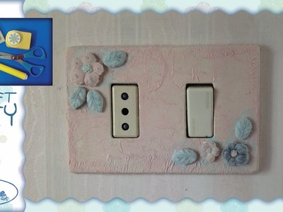 Tutorial ☆ Decorazione placca interruttore ☆ [light switch cover decoration][ITA - ENG instructions]