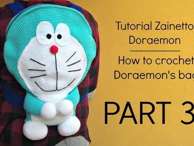 Tutorial zainetto Doraemon | HOW TO CROCHET DORAEMON'S BAG - Part 3
