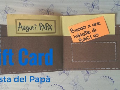 DIY: Biglietto fai da te per festa del Papà ❤ Father's day card tutorial