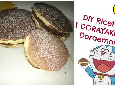 DIY Ricetta DORAYAKI di DOREAMON-pancake giapponesi