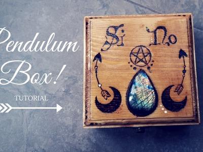 TUTORIAL. Pendulum box, crea la tua! [consigli per la pirografia] - DIY