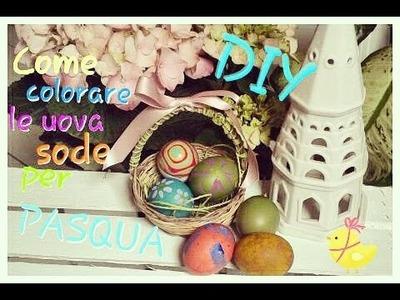 DIY: Come colorare le uova per Pasqua con coloranti alimentari e acrilici