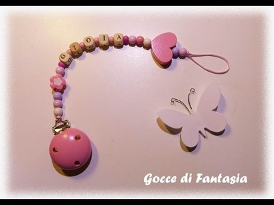 DIY: Portaciuccio fai da te - Idea regalo - Baby Shower