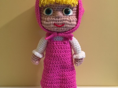 Masha Amigurumi prima parte (tutorial).How to crochet Masha Amigurumi