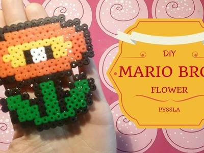 DIY - Tutorial Pyssla Flower MarioBros