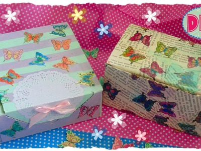 Tutorial: Contenitori Primaverili | Riciclo Creativo | DIY Spring Box | Collab. Michelle'sCuties