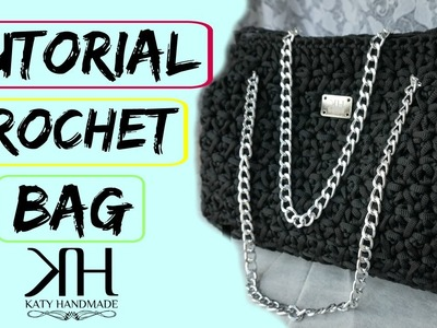 "Tutorial uncinetto borsa ""Emily"" 