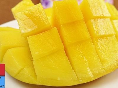Come si taglia un mango? Il metodo migliore!. Tagliare un mango e servirlo. Facile e veloce