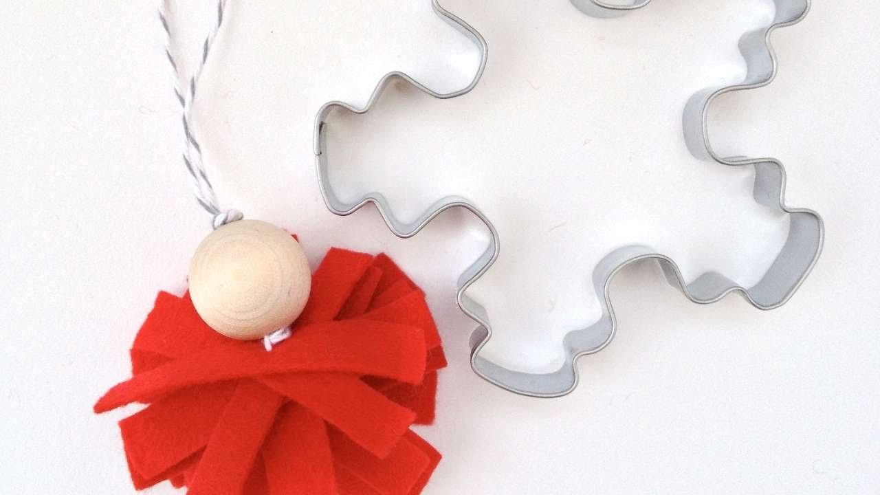 Crea una Decorazione Nordica in Feltro per Natale - Fai da Te Casa - Guidecentral