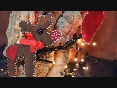 ❤ Decorazioni natalizie in stoffa ❤