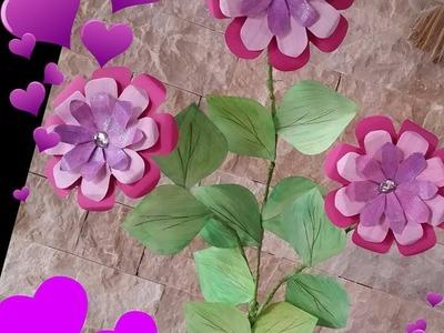 DIY# creazione composizione floreale con flower punch board
