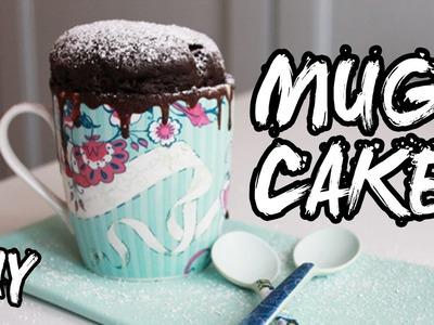 DIY. MUG CAKE CIOCCOLATO E BISCOTTI [ricetta] ● kiarouge