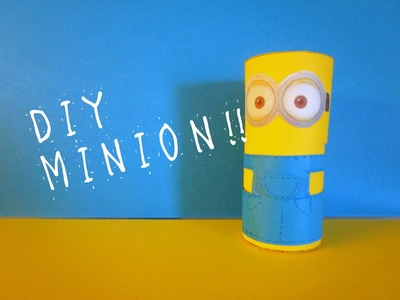 DIY - Tutorial MINIONS !!