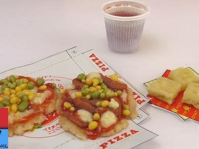 Kit per un mini pizza party - mini pizzette e crocchette di patate